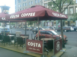 napernyő costa coffee